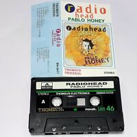 RADIOHEAD PABLO HONEY RARE 1993 CASSETTE TAPE ALBUM THOMSUN IMPORT SAUDI ROCK