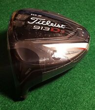 TITLEIST 913 D3 10.5* MENS LEFT HANDED DRIVER HEAD ONLY!!! BRAND NEW!!!