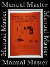 Janome New Home Model 632 Zigzag Sewing Machine Instruction Manual,NO MACHINE*
