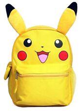 "12"" Pikachu Girls Boys School Backpack"
