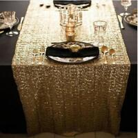 Glitter Sequin Tablecloth Table Cloth Cover Wedding Event Banquet Party Decor CB
