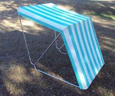 Retro Camping Canopy Vintage Cabana Bimini Shade Pop Up Folding Antique Tent