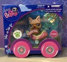 Lps Littlest Pet Shop On the Go French Bulldog 1847 Airplane German Shepherd
