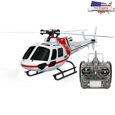 XK K123 6CH Brushless AS350 Scale RC Helicopter RTF Mode 2 - Free Shipping US