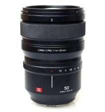 Panasonic Lumix S PRO 50mm f/1.4 Lens - 2 Year Warranty