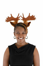 Moose Costume Adult Child Kids Headband With Antlers Elope New
