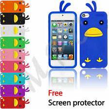 Soft silicone gel protective case cover for iPhone 5S 5 4S 4 iPod touch 4 5 - S4