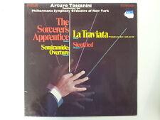 LP ARTURO TOSCANINI conducts Dukas, Rossini, Verdi...