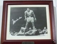 Rare MUHAMMAD ALI Signed SONNY LISTON Photo Fossil Watch in Collectible Box NIB