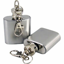 Bulk Sale 6 X1oz Stainless Steel Pocket Liquor Alcohol Whiskey Hip Flask Silver