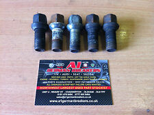 GENUINE SEAT IBIZA MK5 2008 - 2012 5x WHEEL BOLTS NUTS STUDS 17MM BOLT NUT