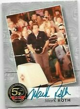 Mark Roth PBA 50th Anniversary autograph by TK Legacy