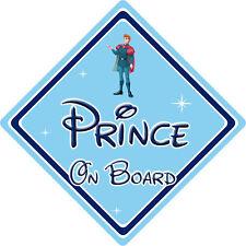 Disney Prince On Board Car Sign – Baby On Board – Sleeping Beauty Prince Phillip
