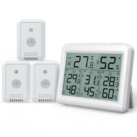 328ft Digital LCD Indoor Thermometer Hygrometer Room Temperature Humidity Meter