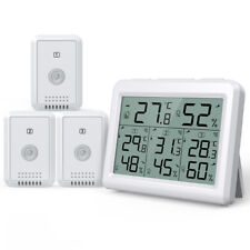 Brift Digital LCD Indoor Thermometer Hygrometer Room Temperature Humidity Meter