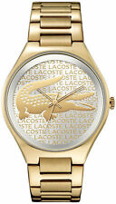 Lacoste Valencia Stainless Steel Womens Watch 2000930 2 YR WARRANTY, RRP £195