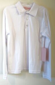 NWT Kayce Hughes White Polo Shirt Boy's Size 18 Month