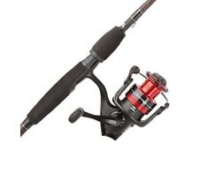"Abu Garcia BMAXSP5-562L Black Max 2 Piece Spinning Combo Fishing Pole 5'6"""