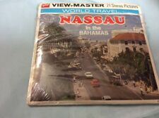 View-Master, 21 Stereo Pictures, World Travel Nassau In The Bahamas