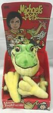 Vintage Ideal Michael Jackson's Pets Plush Toy Uncle Tookie Frog NIB NOS