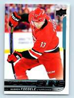 2018-19 Upper Deck Young Guns Warren Foegele RC #236