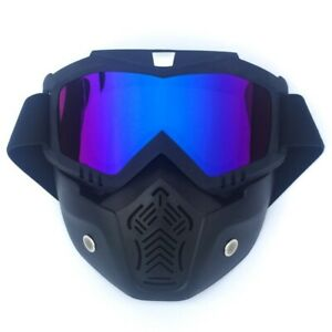 Retro Off road motorcycle goggles skiing goggles cycling bike mask goggles
