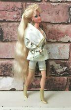 Vintage Mattel Hollywood Hair Barbie 1992 Original Clothing & Boots No Earrings