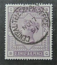 nystamps Great Britain Stamp # 96 Used $165