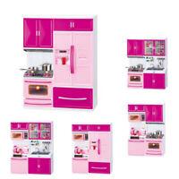 Kitchen Playset Girls Kids Gift Pretend Play Toy Toddler Kitchenware Cooking Set