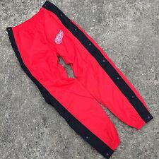Vtg 90s Logo Athletic Windbreaker Athletic Jogging Pants Red Wings Hockey NHL
