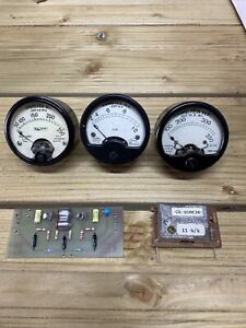 Vintage Ammeters HF - 1942 - Thermo Couple  FG X 2