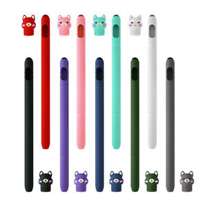 Fits For Apple Pencil 1st Generation Silicone Pen Sleeve Protective Case Cover