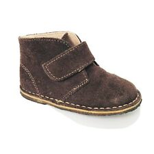 Baby Deer Toddler Boys Desert Chukka Boots Brown Taupe Suede Leather Size 6