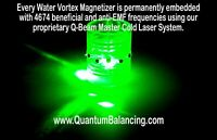 Water Vortex Magnetizer 12 Magnet Implosion Device Structured Clustered Water