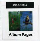 Indonesia - CD-Rom Stamp Album 1950-2014 Color Illustrated Album Pages