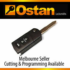 Complete Key & Remote to suit Mazda 3 2009-2013 (Aftermarket)