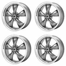4x American Racing 16x7 AR105 Torq Thrust M Wheels Anthracite Mach 5x4.5/114 +35