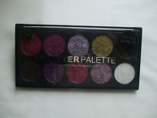 Technic Glitter Palette Highly Pigmented For Face And Body Unicorn Uniform New