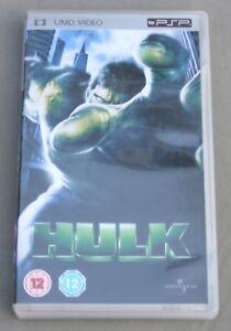 PSP UMD FILM - HULK (ERIC BANA + JENNIFER CONNELLY)