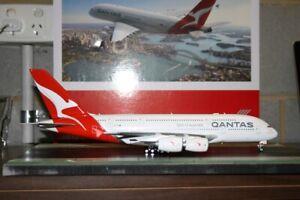 Herpa Wings 1:200 Qantas Airbus A380-800 VH-OQF (559423) Die-Cast Model Plane