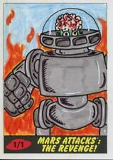 Mars Attacks The Revenge [2017] Sketch Card By Bobby Blakey