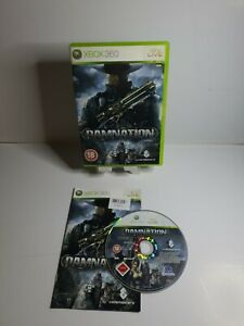 Damnation Xbox 360 game (PAL) complete Good Condition