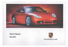 2000 PORSCHE 911 GT3 996 BETRIEBSANLEITUNG HANDBUCH HANDBOOK MANUAL ENGLISCH