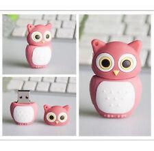 Cute Cartoon Animal Owl USB 2.0 Flash Drive 8GB Memory Stick U Disk Flash Card