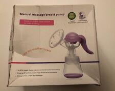 Sumgott Manual Breast Pump Hand Breastfeeding Feeding Kit - Baby Feeding New