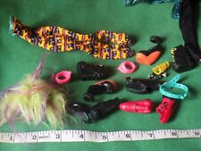 Vintage Monster High dolls clothes and boots spares job lot