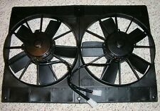"Tri 5 Chevy 1955 56 57 Dual 11"" Electric Radiator Cooling Fan Twin Fans bel air"