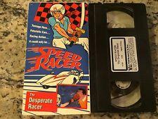 SPEED RACER THE DESPERATE RACER RARE OOP VHS! 1966 JAPANESE ANIME CAR RACING HTF