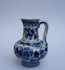 De Porceleyne Fles Henkelvase Krug Joost Thooft  Vase Delft Dekoration 1954