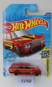 Hot wheels HW Speed Graphics Datsun Bluebird Wagon 510 8/10 FNQHotwheels FJ760
